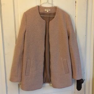 Cotton Candy wool coat